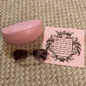 Women's Juicy Couture Aviator Sunglasses
